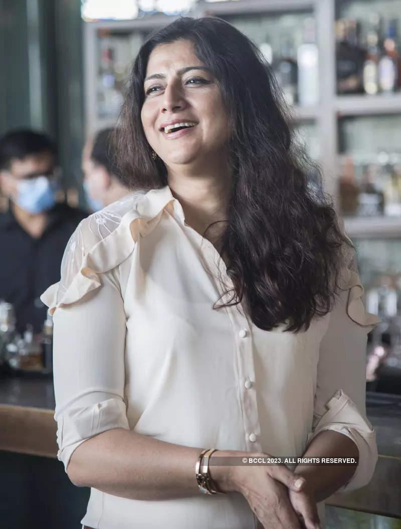 Fashion designer Charu Parashar celebrates her 50th birthday with friends