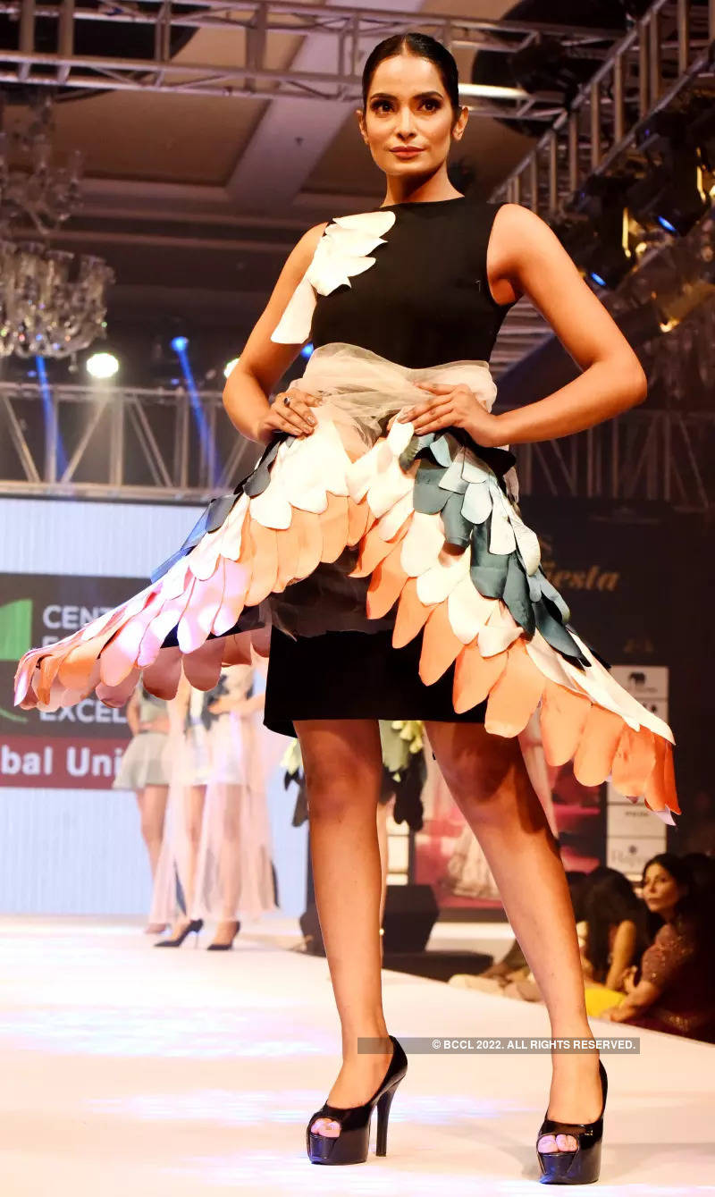 Times Fashion Fiesta 2021 showcased eclectic wedding wear