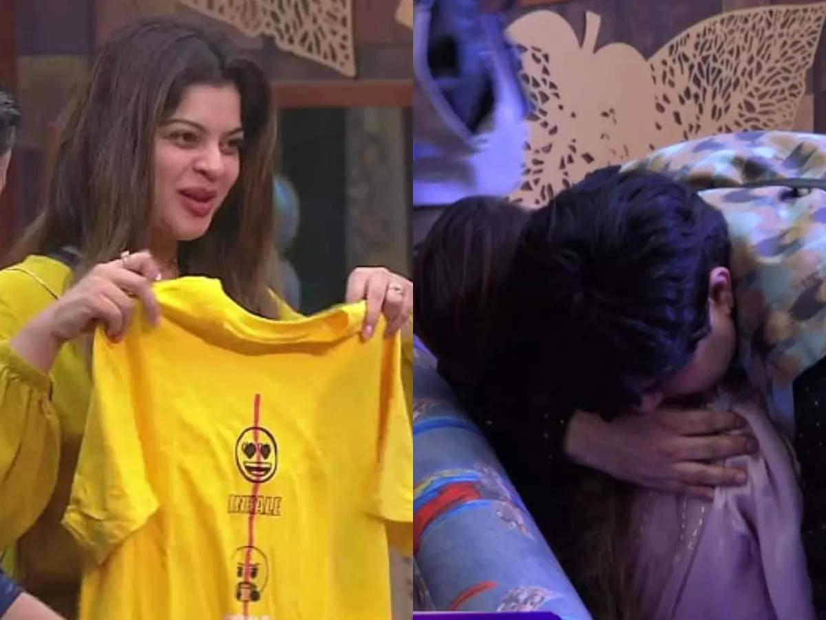 Aavishkar secretly gifts a T-shirt to Sneha on her birthday