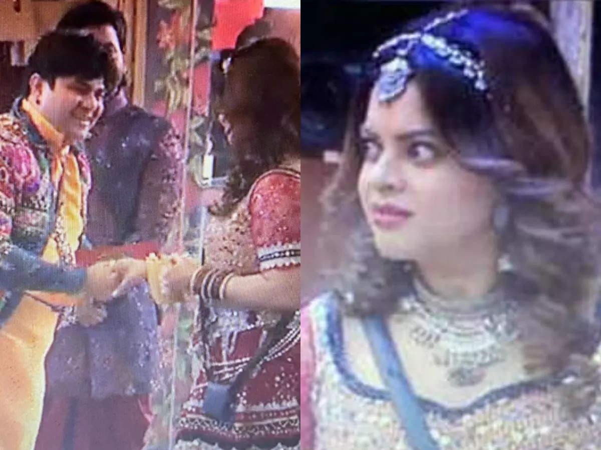 Sneha Wagh shocked to see Aavishkar Darwhekar in the house