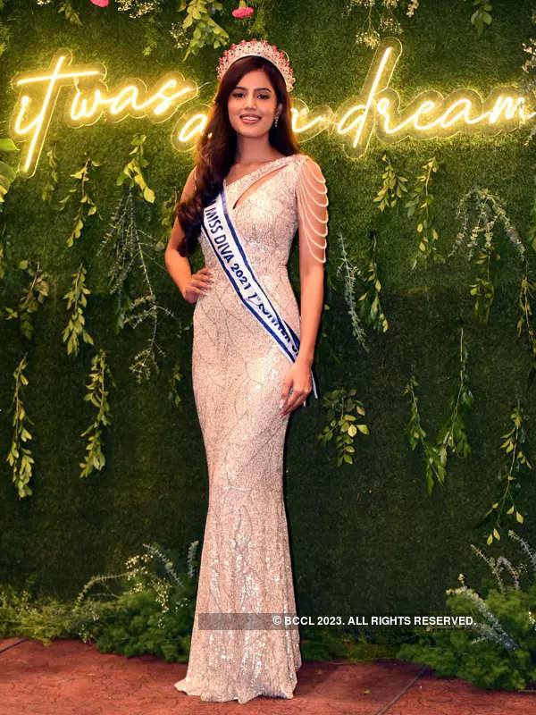 LIVA Miss Diva 1st runner-up Sonal Kukreja's homecoming ceremony