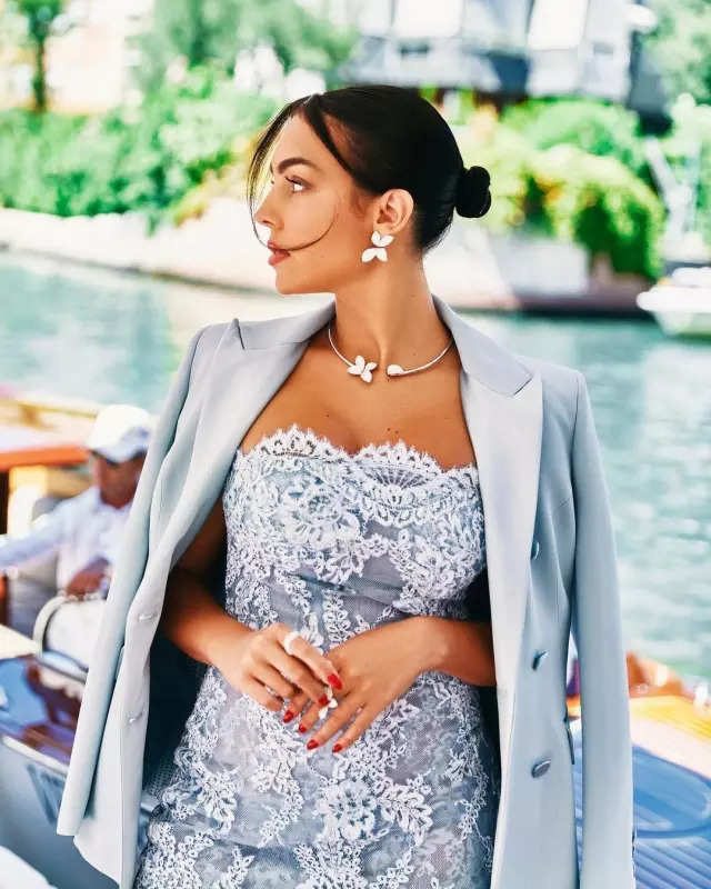 Cristiano Ronaldo's girlfriend Georgina Rodriguez stuns in these new pictures that you can't miss!