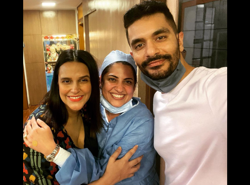 Neha Dhupia pens a heartfelt note for doctors who helped her during her pregnancy and delivery