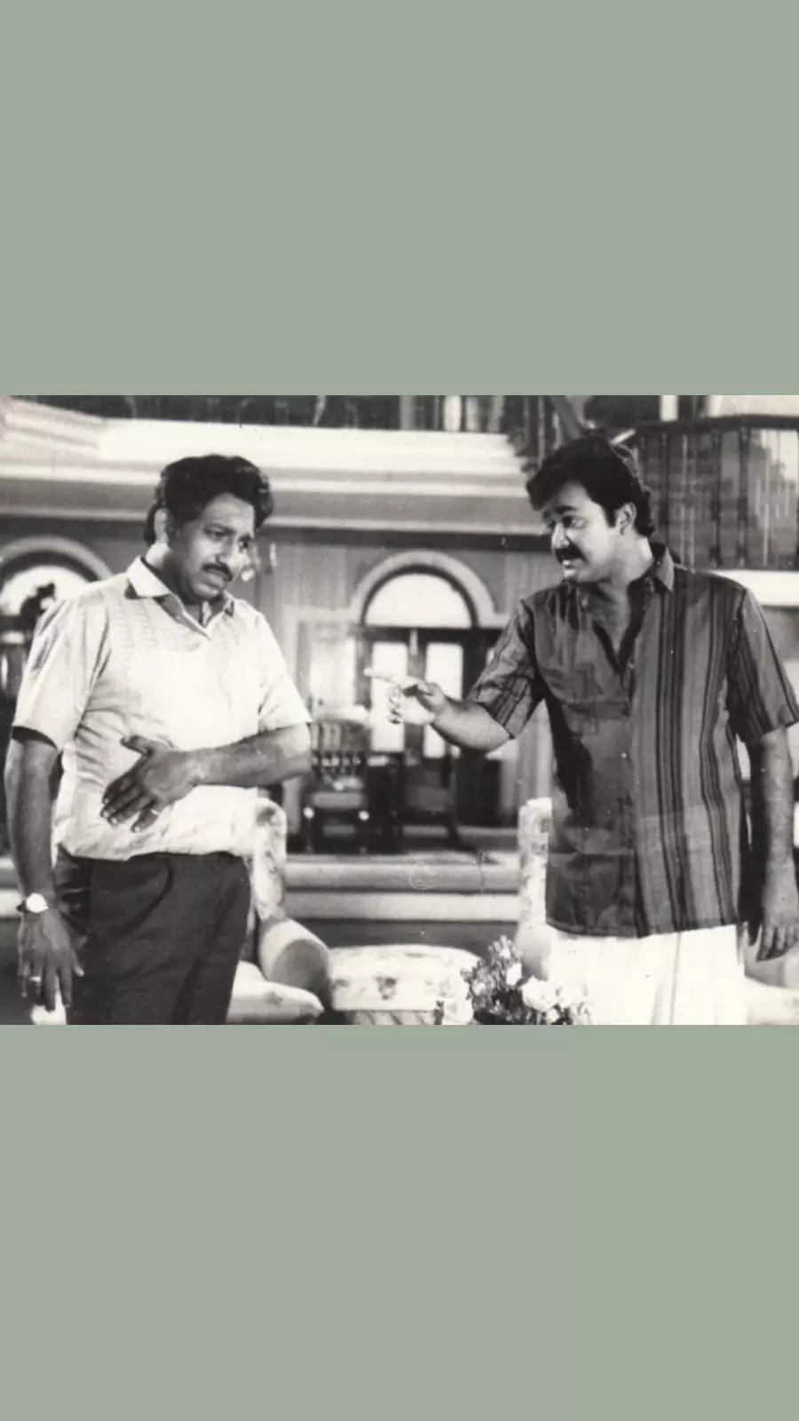 Mohanlal and Nedumudi Venu had great onscreen chemistry and a deeper rapport in real life.