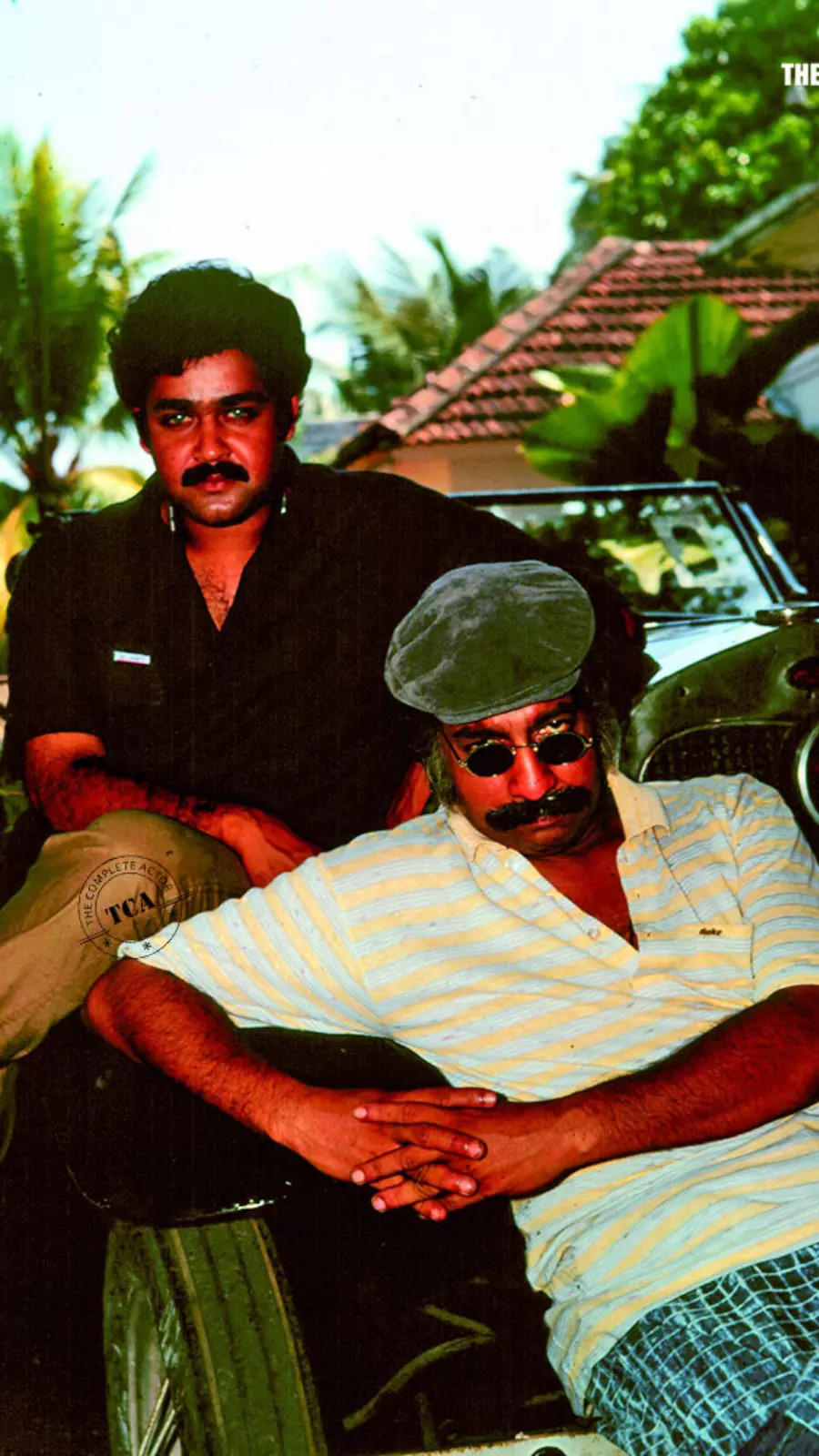 Rare pictures of Nedumudi Venu and Mohanlal