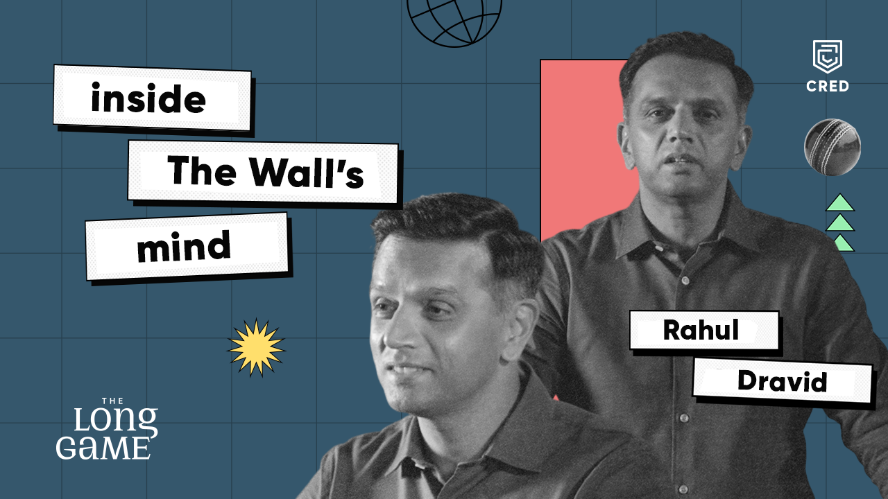 Watch Rahul Dravid in CRED's latest show!