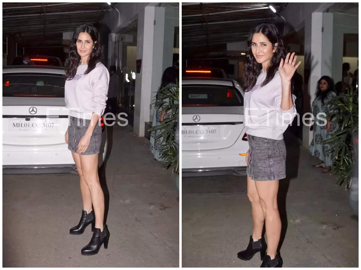 Pics: Katrina at Vicky's 'Udham Singh' screening