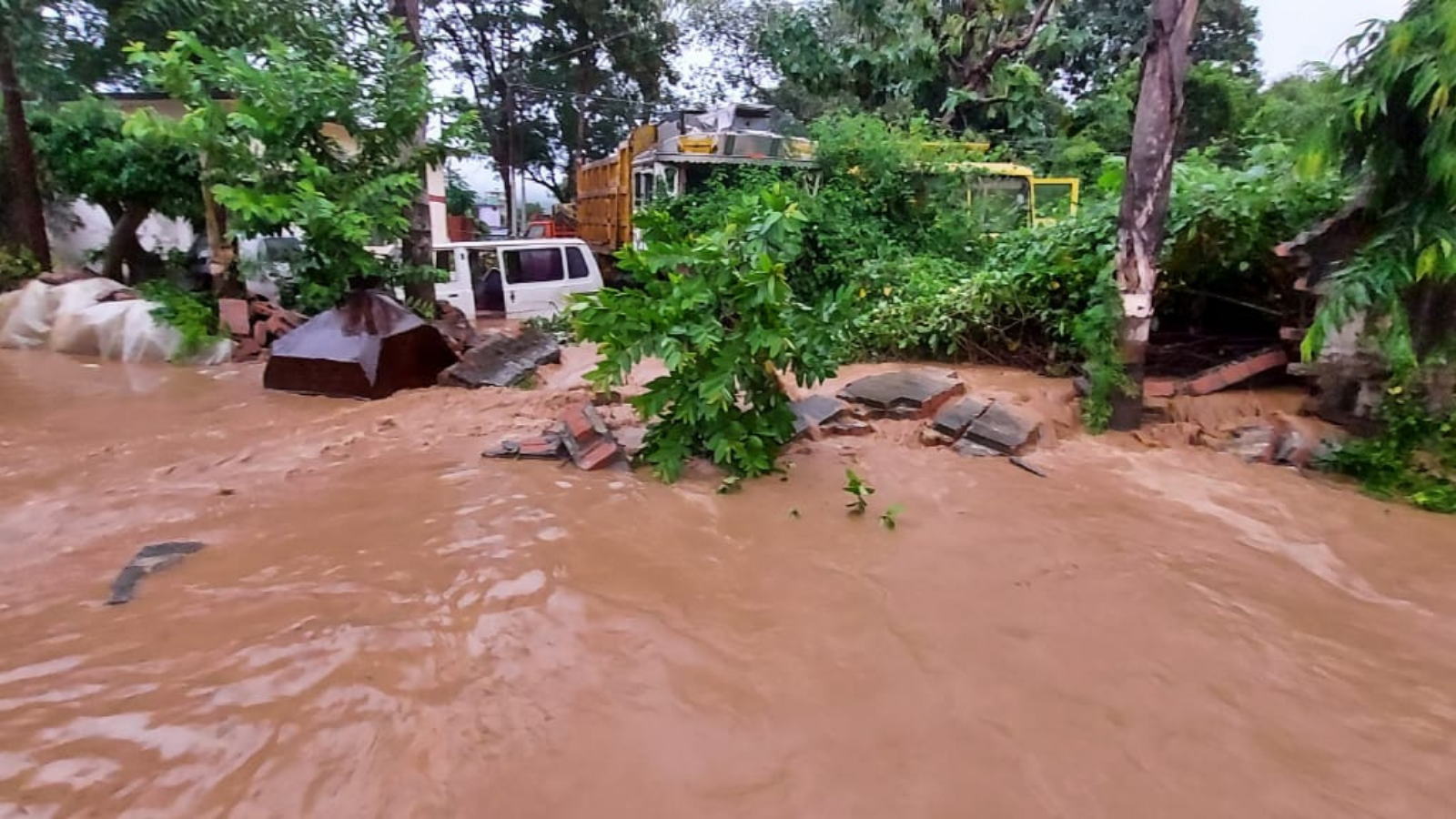 In pics: Cloudbursts, landslides wreak havoc in Uttarakhand