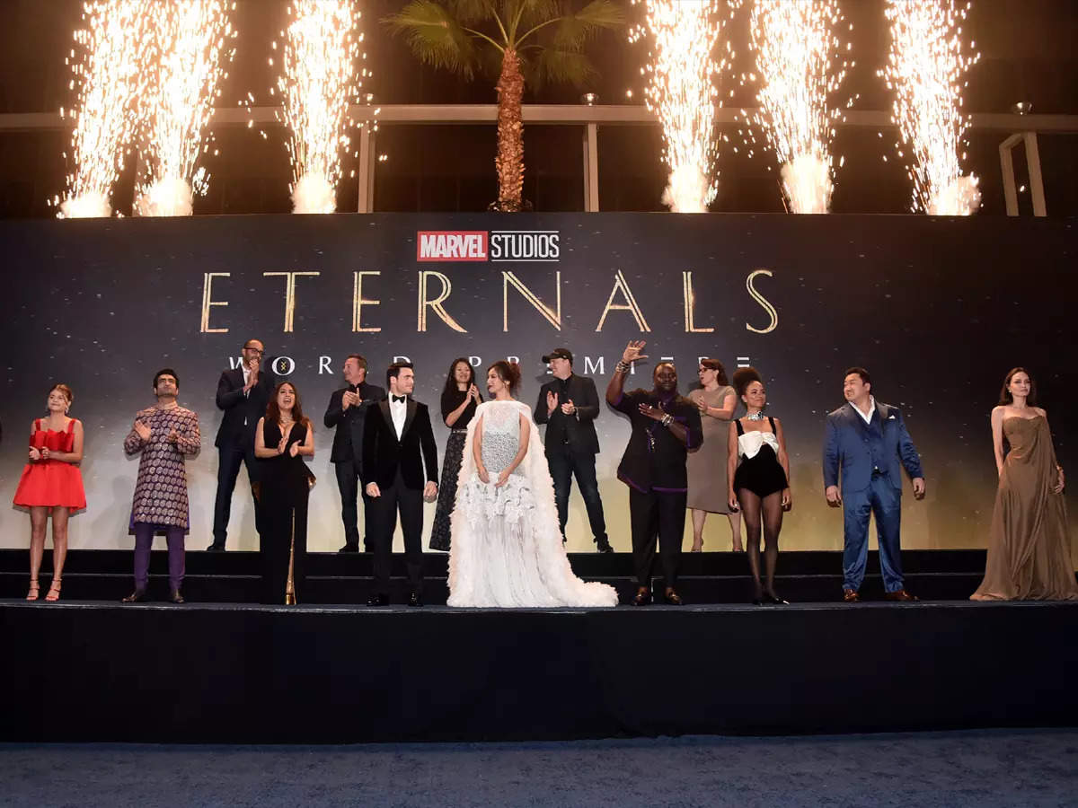 Eternals premiere: Highlights from red carpet