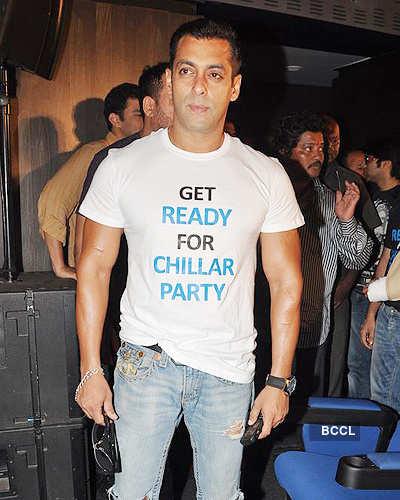 Salman @ 'Chillar Party' press meet