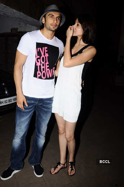 Ranveer spotted with Anushka