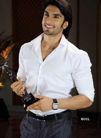 Ranveer at 'Jeeyo Bollywood Awards'