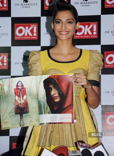 Sonam @ OK magazine latest edition launch