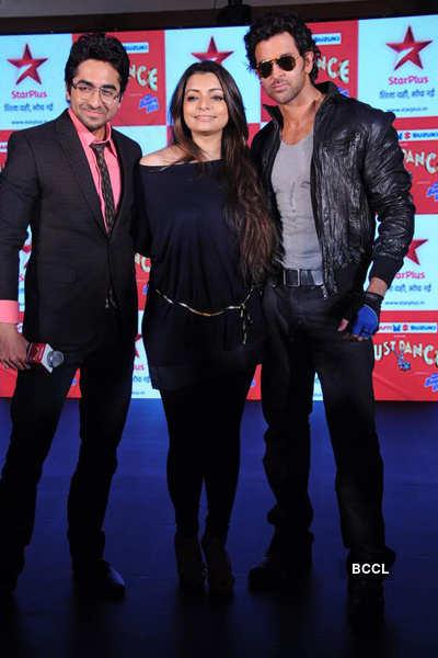Hrithik at 'Just Dance' press meet