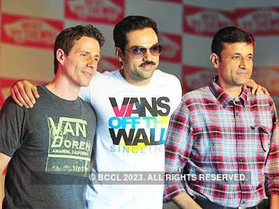 Abhay Deol @ 'Vans' store launch