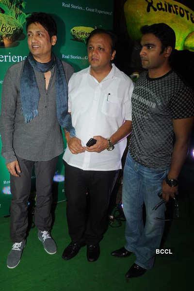 Launch of 'Rainforest' restaurant