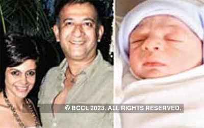 Mandira Bedi delivers baby boy