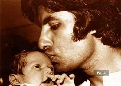 Big B with his family