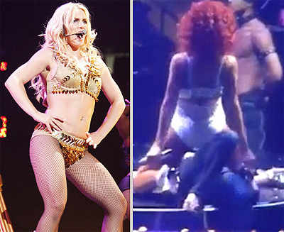 Raunchy on-stage acts!