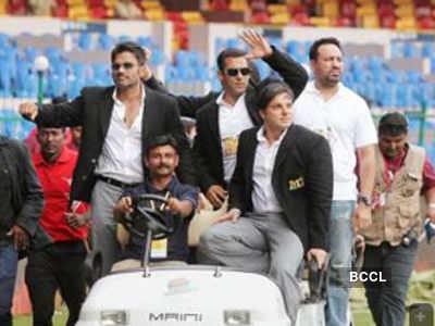 Sohail Khan at Celebrity Cricket League
