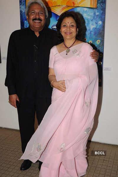 Poonam Agarwal's art show