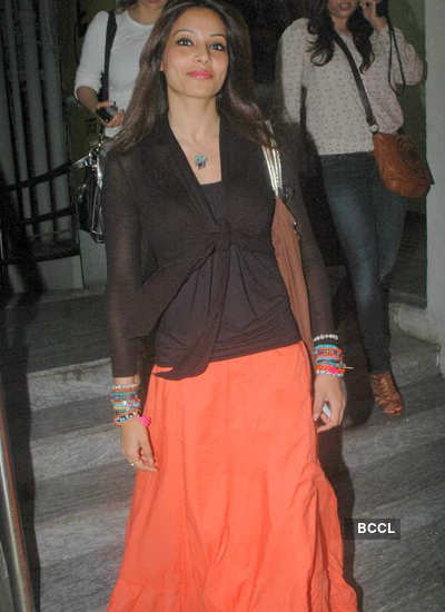 Bipasha spotted at PVR
