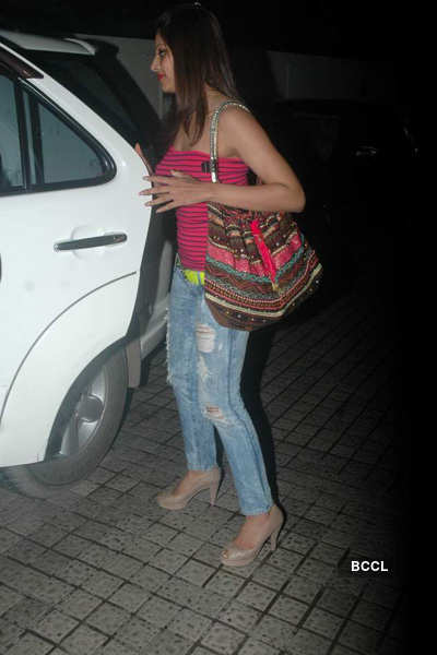 Bips spotted with friend @ PVR