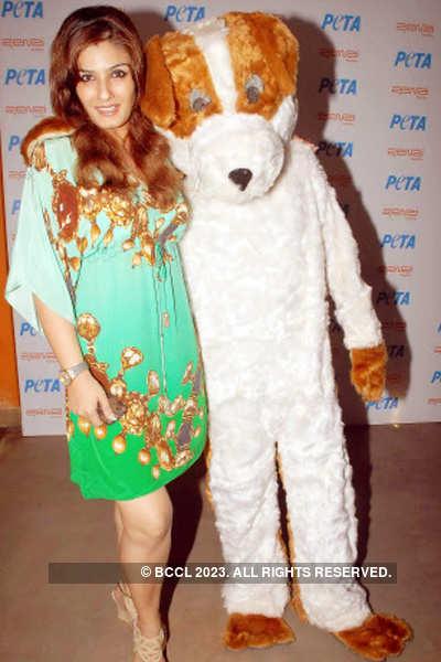 Celebs @ PETA campaign launch