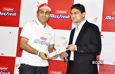 Sehwag meets contest winners