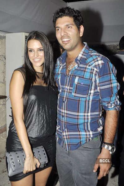 Neha Dhupia-Yuvraj Singh, a couple?