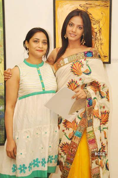 Rekha Rana's art exhibition
