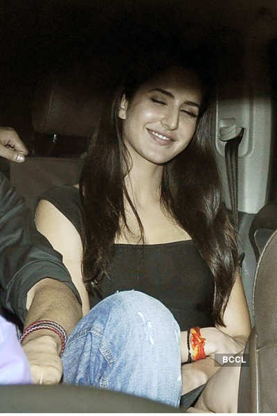 Katrina's private b'day dinner