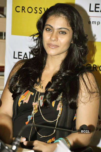 Kajol, Tanisha at book launch