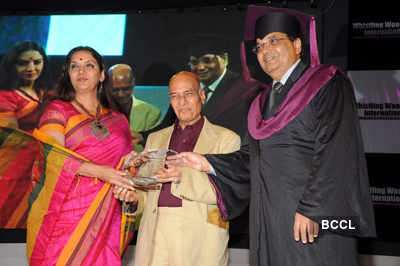 Whistling Woods 4th convocation ceremony