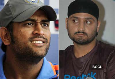 Harbhajan upset over Dhoni ad