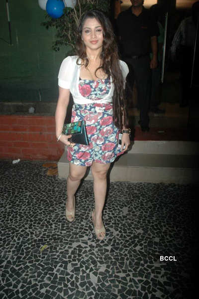 Poonam Pandey at Satish Reddy's party