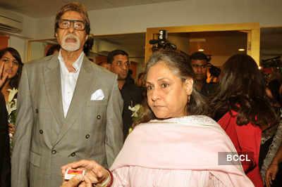 Bachchans @ 'Vibrations' launch