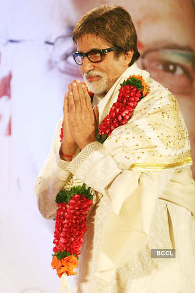 Big B, Balasaheb @ book launch
