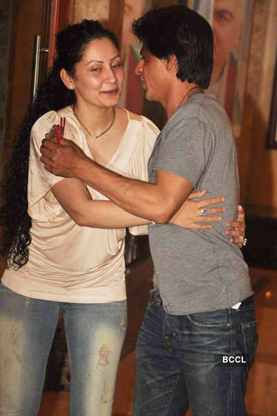 Sanjay Dutt's bash at his residence