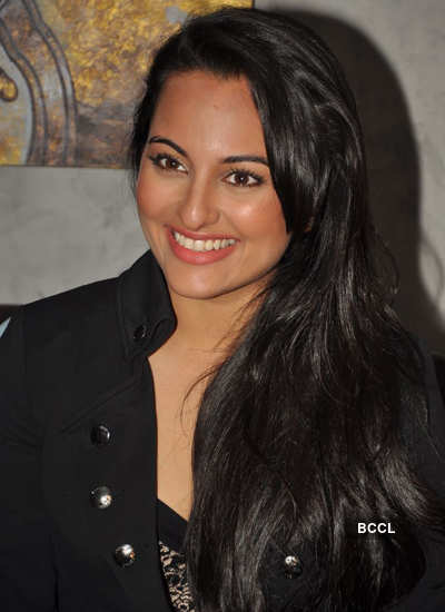 Sonakshi at event