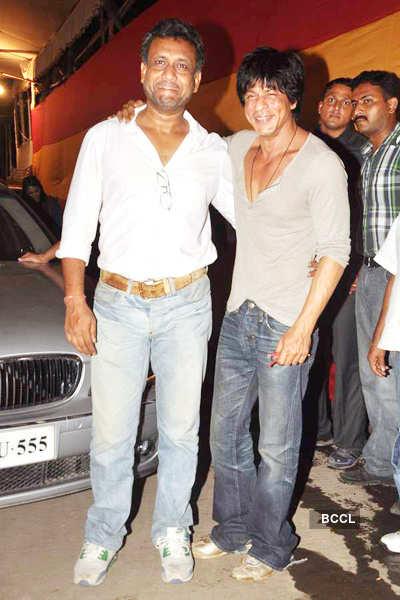 SRK finishes 'Ra-One' shoot