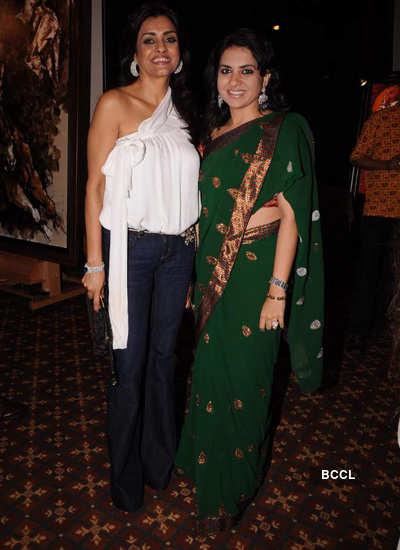 Nina returns with Aslam Shaikh art exhibition