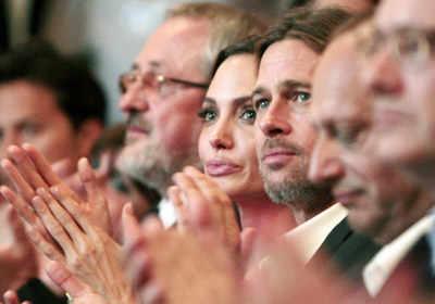 Angelina Jolie receives honorary award