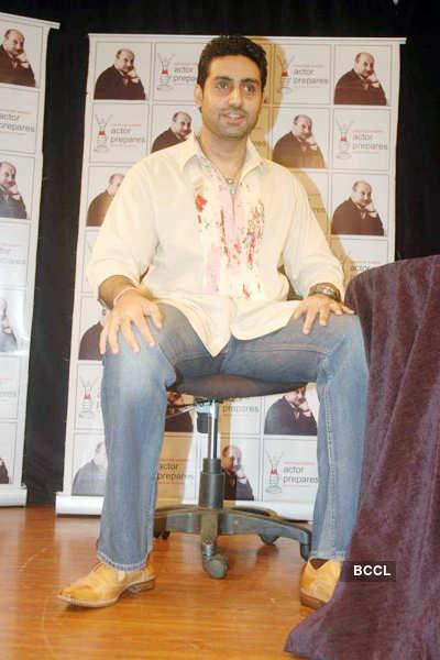 Abhi @ Anupam Kher's acting institute
