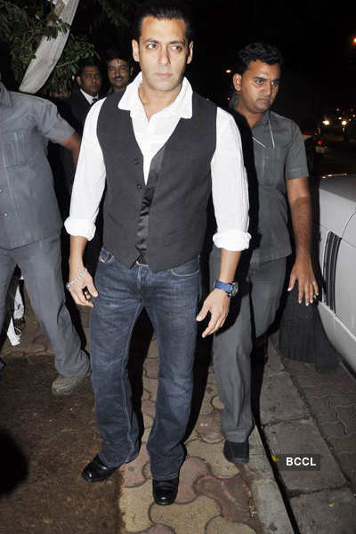 Arbaaz Khan's b'day bash