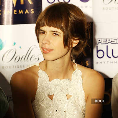 Kalki Koechlin @ press meet of 'Shaitan'