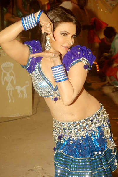 Rakhi's item song shoot