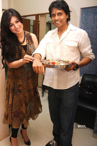 Ayesha celebrates 'Rakhi'