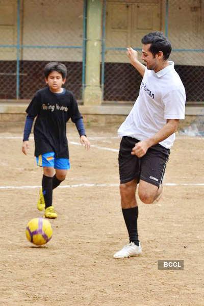 'Men's Health' Soccer match