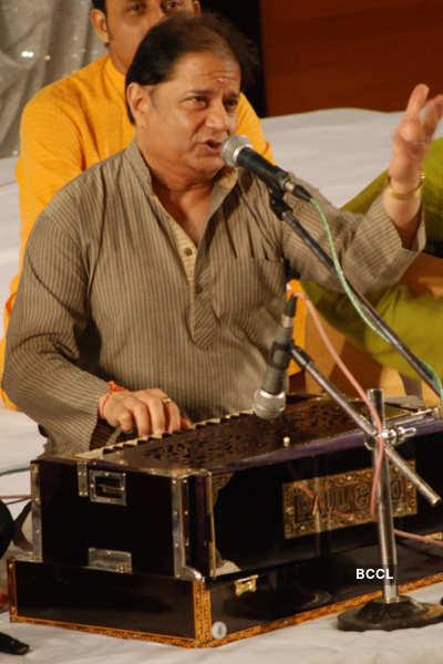 Anup Jalota's musical event